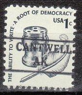 USA Precancel Vorausentwertung Preo, Locals Alaska, Cantwell 882 - Etats-Unis