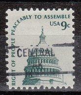 USA Precancel Vorausentwertung Preo, Locals Alaska, Central 841 (a1.5) - Vereinigte Staaten