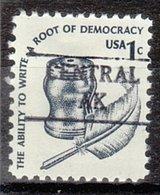 USA Precancel Vorausentwertung Preo, Locals Alaska, Central 882 - Etats-Unis