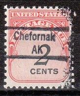 USA Precancel Vorausentwertung Preo, Locals Alaska, Chefornak 843 - Vereinigte Staaten