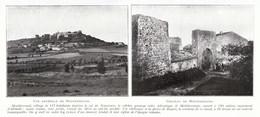 1924 - Iconographie - Montferrand (Aude) - Vues - FRANCO DE PORT - Old Paper