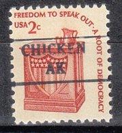 USA Precancel Vorausentwertung Preo, Locals Alaska, Chicken 882 - Etats-Unis