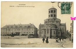 ISSOIRE - L'Eglise Saint-Paul Et Le Collège - Issoire