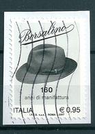 2017 BORSALINO USATO - 6. 1946-.. Repubblica