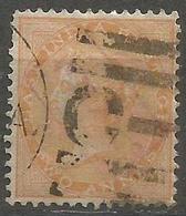 India - 1865 Queen Victoria 2a Orange Used    SG 62  Sc 23 - India (...-1947)