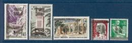 LOT DE 5 TIMBRES SURCHARGES EA * - Algérie (1962-...)