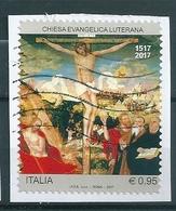 2017 CHIESA EVANGELICA LUTERANA USATO - 6. 1946-.. Repubblica