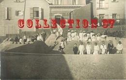 62 ☺♥♥ BERCK - CARTE PHOTO 1911 De La FAMILLE DELOUCHE - CONCOURS De CHATEAU De SABLE - VILLA  VILLAS - Berck