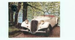 Automobile -  Les Tractions Avant Citroen Cabriolet Roadster 1935 Modele 11 A    W 244 - Voitures De Tourisme