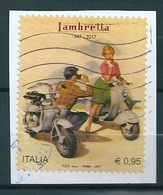 2017 LAMBRETTA  USATO - 6. 1946-.. Repubblica