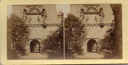 PHOTO  STEREOSCOPIQUE -  BORDS  DU  RHIN - Porte D'entrée Du Chateau D' Heidelberg - Photos Stéréoscopiques