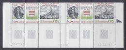 TAAF 1997 Amiral De Kerguelen 2v+label (pair, Corner, Printing Date) ** Mnh (F7622) - Franse Zuidelijke En Antarctische Gebieden (TAAF)