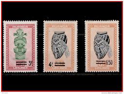 Ruanda 0173/75*  Artisanat Et Masques  H - 1948-61: Neufs