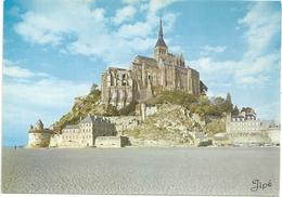 CPM. 2 . LE MONT-St-MICHEL . CARTE NON ECRITE - Le Mont Saint Michel
