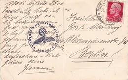 ITALIE 1940 CARTE POSTALE CENSUREE POUR BERLIN - 1900-44 Victor Emmanuel III