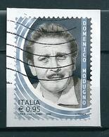 2018 DOMENICO MODUGNO USATO - 6. 1946-.. Repubblica