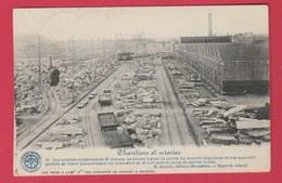 Soignies -Société Des Carrière Du Hainaut - Chantiers Et Scieries - Historique - 1922 ( Voir Verso ) - Soignies