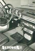 Automobile -  Autovox Autoradio Sur Peugeot 504    W 251 - Postcards