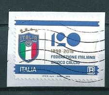 2018 FIGC FEDERAZIONE GIUOCO CALCIO USATO - 6. 1946-.. Repubblica