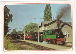Schmalspurbahn (750 Mm) - Radebeul Ost - Radeburg - Traditionszug In Moritzburg - (D.D.R.) - Treinen