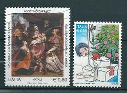 2014 NATALE RELIGIOSO E LAICO SERIE COMPLETA USATO - 6. 1946-.. Repubblica