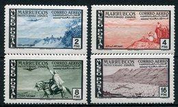 1950- MAROCCO SP.-LANDSCAPES-AVION - 4 VAL. - M.N.H.LUXE !! - Marruecos Español