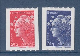 =Marianne De Beaujard Boutique Pro Autocollant  TVP Rouge Et Bleu, Autoadhésifs 599 Et 600 émission Du 01.07.2011 - Roulettes