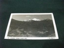 MT. EVEREST FROM TIGER HILL DAS STUDIO DARJEELING  FORMATO PICCOLO FRANCOBOLLO INDIA 1955 - Tibet