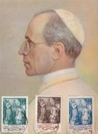 VATICAN 1943 CARTE POSTALE - Lettres & Documents