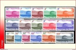Congo 0551/66*  Palais De La Nation  H - République Du Congo (1960-64)