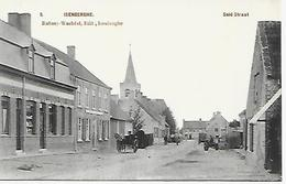 CPA / AK / PK  -  ISENBERGHE   Suid Straat   ( Animatie ) - Alveringem