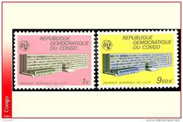 Congo 0725/26** UIT  MNH - République Démocratique Du Congo (1964-71)
