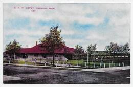 Ironwood - C. N.W. Depot - United States
