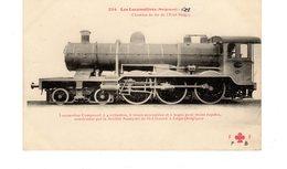 LES LOCOMOTIVES BELGES (ETAT) Locomotive N°3334 Construite Par La Société Anonyme De St Léonard à Liège (Belgique) - Treni