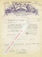 SAN JOSE DE COSTA RICA 1934 - ROBERT HERMANOS - Almacenes De Ropa Y Novedades - Autres