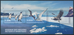 TAAF 2017 - Arctic And Antarctic Birds, Joint Issue Greenland, Miniature Sheet** - Terre Australi E Antartiche Francesi (TAAF)