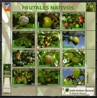 Dominican 2017 Rep. Dominicana / Fruits Trees MNH Frutas Árboles / Cu10200  41-42 - Frutas