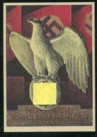 """Deutsches Reich / 1937 / Propagandakarte """"Reichsparteitag Nuernberg"""" (1/670) - Germany"""