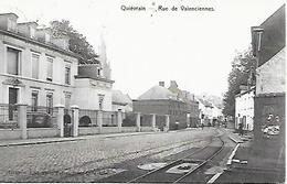 CPA / AK / PK  -  QUIEVRAIN   Rue De Valenciennes - Quiévrain