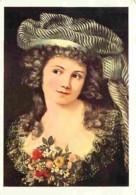 Art - Peinture - Gustave Courbet - Portrait De Jeune Femme à La Manière De Labille-Guiard - Voir Scans Recto-Verso - Peintures & Tableaux