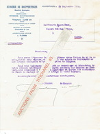 Brief Van 1935 - HOEPERTINGEN - SUCRERIE DE HOUPPERTINGEN - Suikerfabriek - Belgique