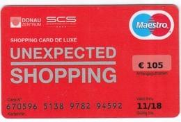 Geschenkkarte  SCS  UNEXPECTED SHOPPING  Gift - Gift Cards