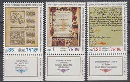 ISRAËL - Philex - 1992 - Nr 1236/38 - MNH** - Israel