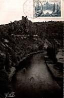 L AUVERGNE CHATEAU ROCHER DOMINANT LA VALLEE DE LA SIOULE - Frankrijk