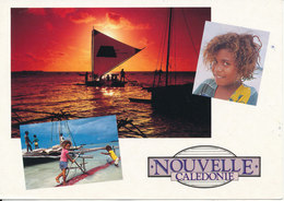 New Caledonia Postcard Sent To Denmark 2-7-1994 - Nouvelle Calédonie