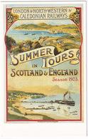 London & North Western & Caledonian Railways - 'Summer Tours In Scotland & England - Season 1903' - Treinen