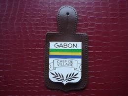 Gabon - Chef De Village  ( Police ) - Police & Gendarmerie