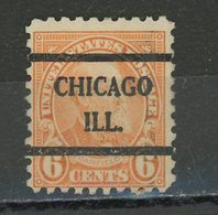 USA : -  COURANT - N° Yvert 233 Obli.  CHICAGO ILL. - Vereinigte Staaten