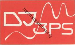 QSL - Funkkarte - DJ3PS - 36041 Fulda-Maberzell - 1961 - Amateurfunk