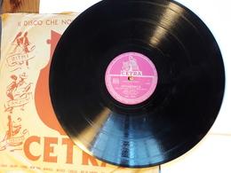 Cetra   -   1956.  Serie AC  Nr. 3045  -   Latilla, Boni, Cinico Angelini - 78 G - Dischi Per Fonografi